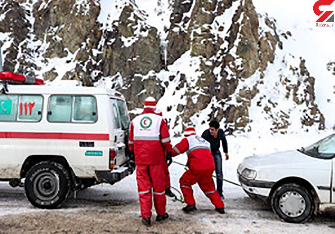 امدادرسانی به هزاران گرفتار در کولاک و برف