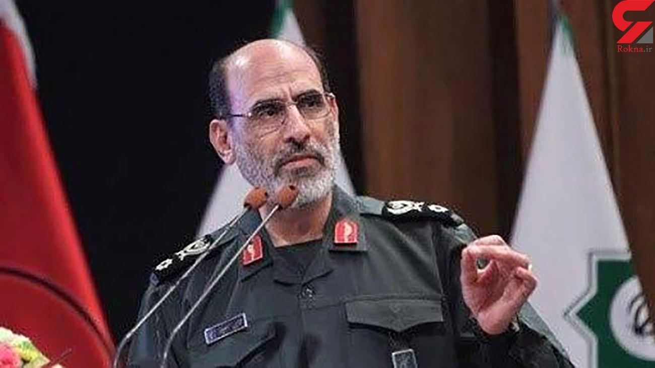 سردار سپهر : مردم و مسئولان در مقابله با کرونا مدال افتخار گرفتند