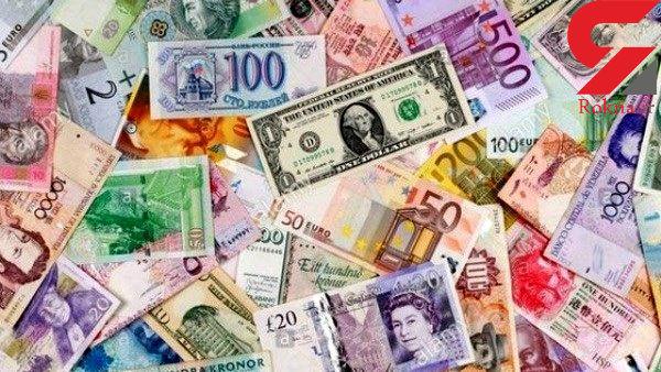 نرخ ۴۷ ارز بین بانکی در ۲۲ اسفند ۹۷/ قیمت ۱۹ ارز بین بانکی کاهش یافت + جدول