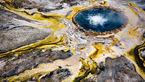 عجیب ترین چشمه آب گرم دنیا+عکس