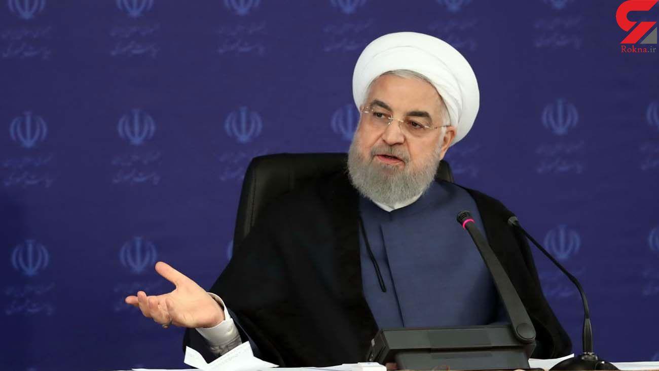 روحانی: بسیاری از کشورها از ترس کرونا محصولات کشاورزی را انبار میکنند