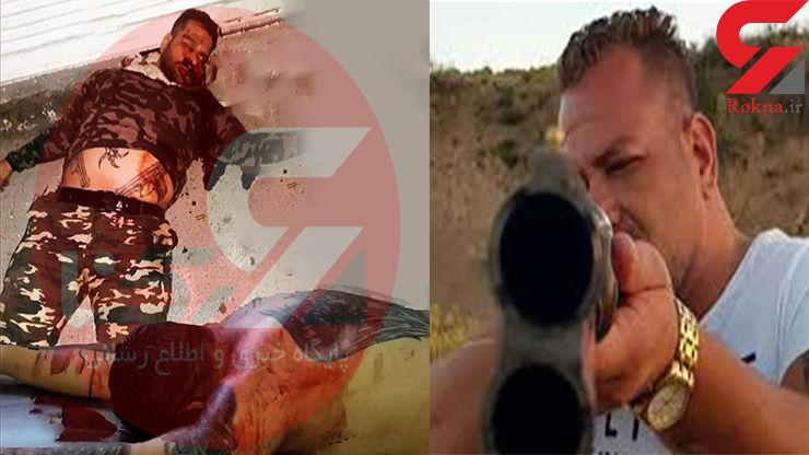اولین عکس از جسد بهروز حاجیلو قاتل روحانی همدان! + فیلم و جزییات