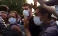 فیلم پلیس  ضد شورش مودب و مهربان در اعتراضات تبریز / او چه گفت؟!