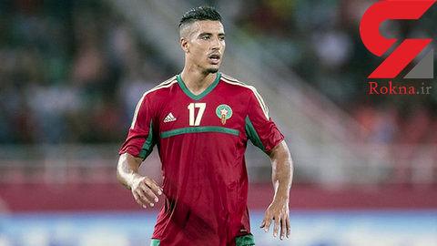مدافع مراکش بازی با ایران را از دست میدهد؟