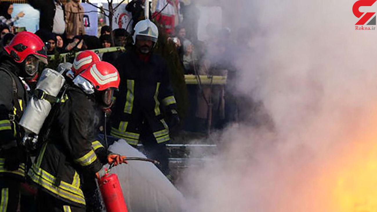 فیلم وحشتناک از انفجار در پمپ گاز مشهد