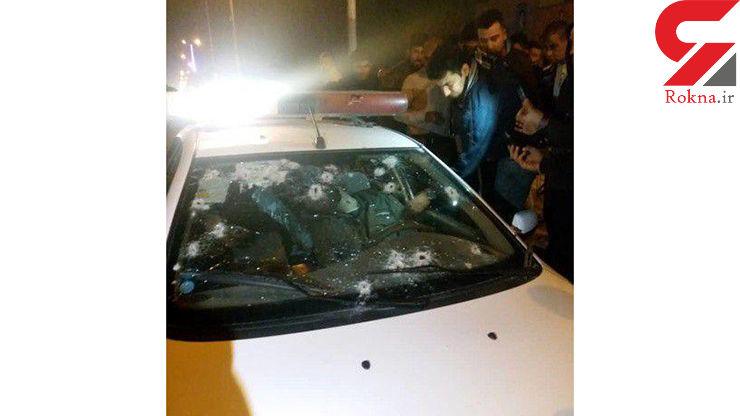 شهادت 2 مامور پلیس و هلاکت دو تبهکار در سراوان