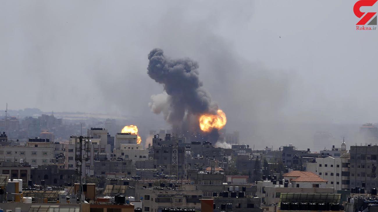 فیلم های شوک آور از جنگ بین غزه و اسرائیل + جزئیات