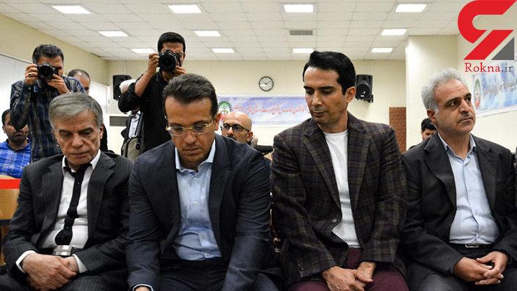 دادگاه فساد 1/2 میلیارد دلاری گروه عظام / پرونده سنگین دیگری روی دوش قاضی صلواتی+ عکس متهمان
