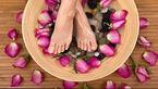 درمان مشکلات پا با سرکه!