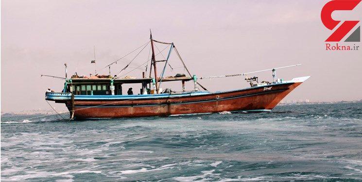 چهار ملوان لنج صیادی در «گناوه» از مرگ نجات یافتند