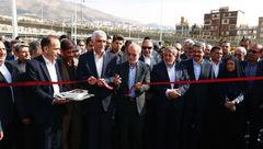 بخش شمالی بزرگراه شهید صیاد شیرازی افتتاح شد + عکس