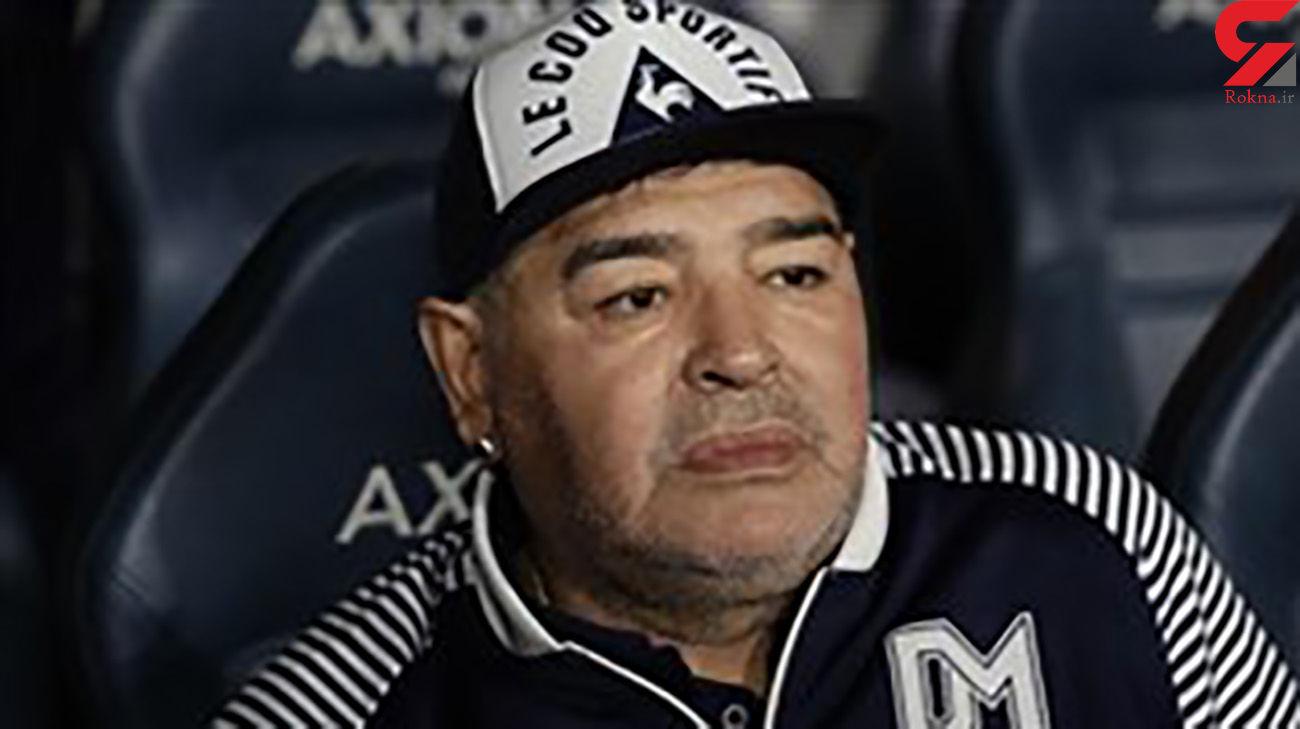 مارادونا درگذشت + جزییات