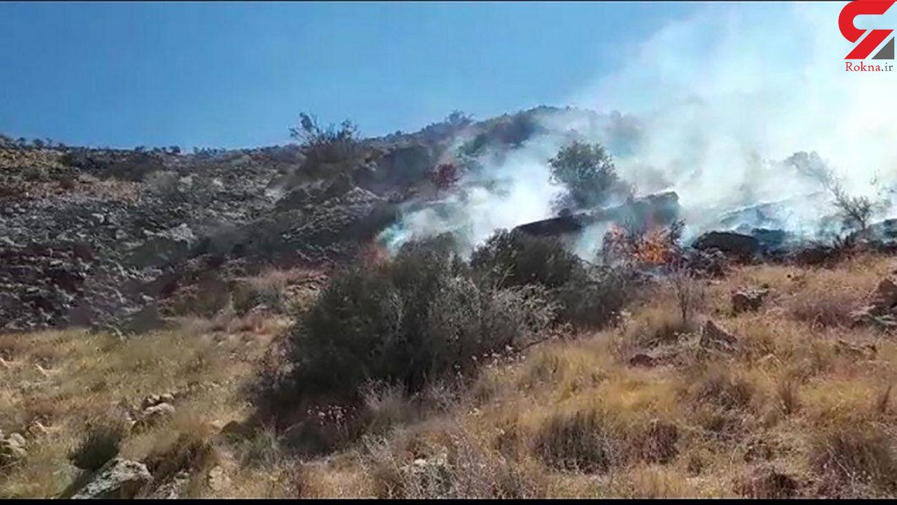 آتشسوزی مراتع سمیرم و فریدونشهر مهار شد