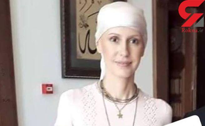 حضور همسر بشار اسد در محافل عمومی با تیپ جدید + عکس
