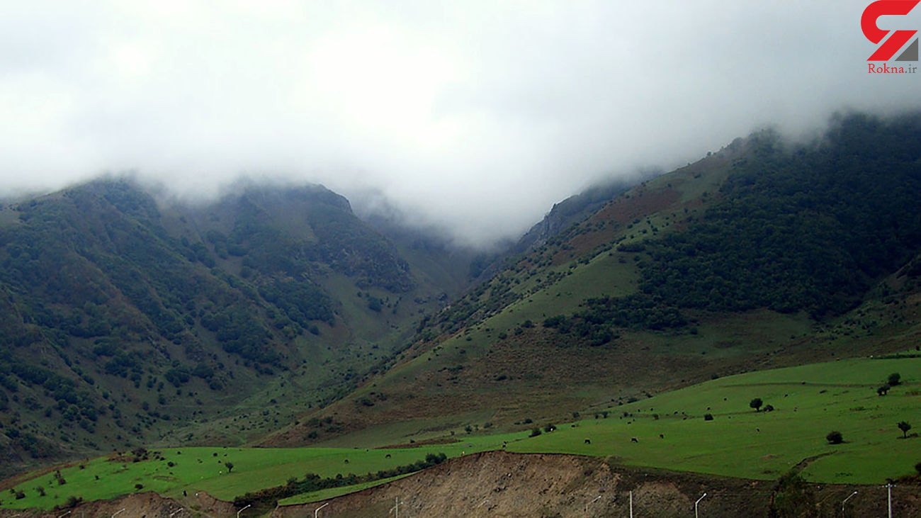 وضعیت بارش ها در ایران !