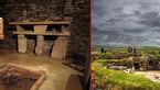 خانه هایی که زیر یک باغ مدفون است + عکس
