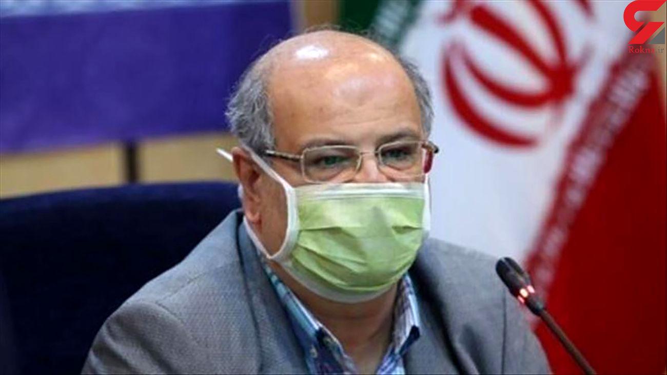تهران همچنان قرمز کرونایی