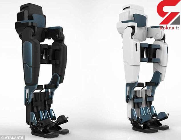 پوشش رباتیکی به راه رفتن بیماران معلول کمک می کند