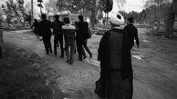 لحظه به لحظه تشییع غریبانه و دفن یک بیمار کرونایی در علی آباد کتول +تصاویر