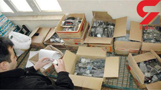 جریمه ۹۰۰ میلیونی قاچاقچی گوشی تلفن همراه در خدابنده
