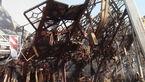 آتش نشانی تشریح کرد: پلاسکو چرا فرو ریخت