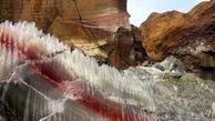 توقف فعالیت شرکت معدنی در محدوده گنبد نمکی بستک