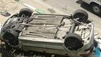 یک کشته و دو مصدوم قربانی واژگونی پژو 206