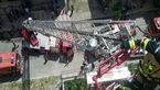 آتش سوزی در ساختمان 6 طبقه در پونک/ ساکنان محبوس شدند + عکس