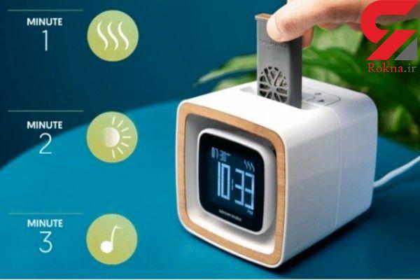 هر روز با بوی خوش از خواب بیدار شوید!/ساعتی هوشمند برای خوش خواب ها