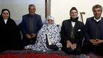 این مرد 91 ساله با عروس خانوم 89 ساله در بردسکن ازدواج کرد+عکس