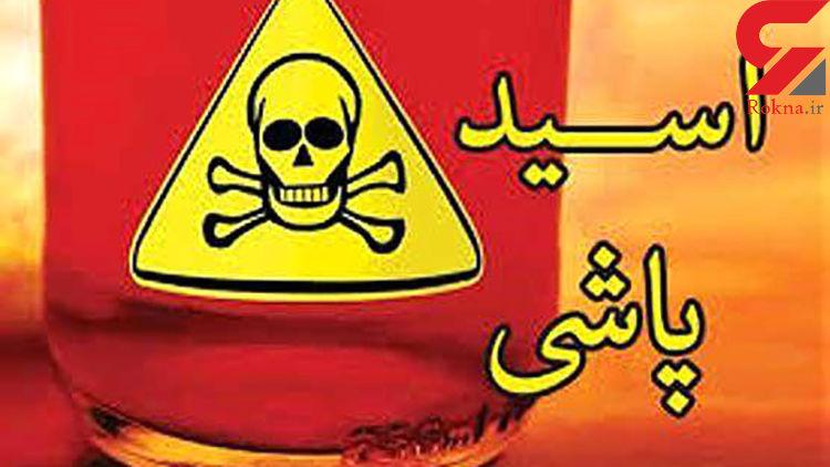 عامل اسیدپاشی در بابل هنوز فراری است