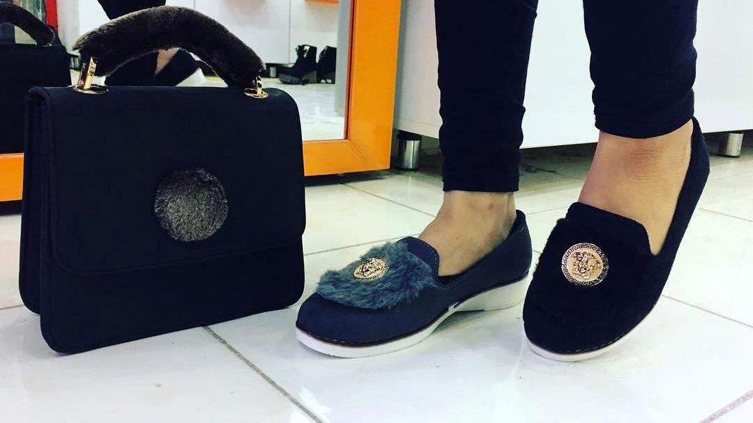 کفش اسپرت اصفهان ست کیف و کفش اسپرت دخترانه