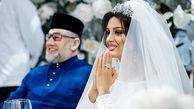 طلاق ملکه زیبایی روس از پادشاه مالزی / رازش فاش شد + عکس