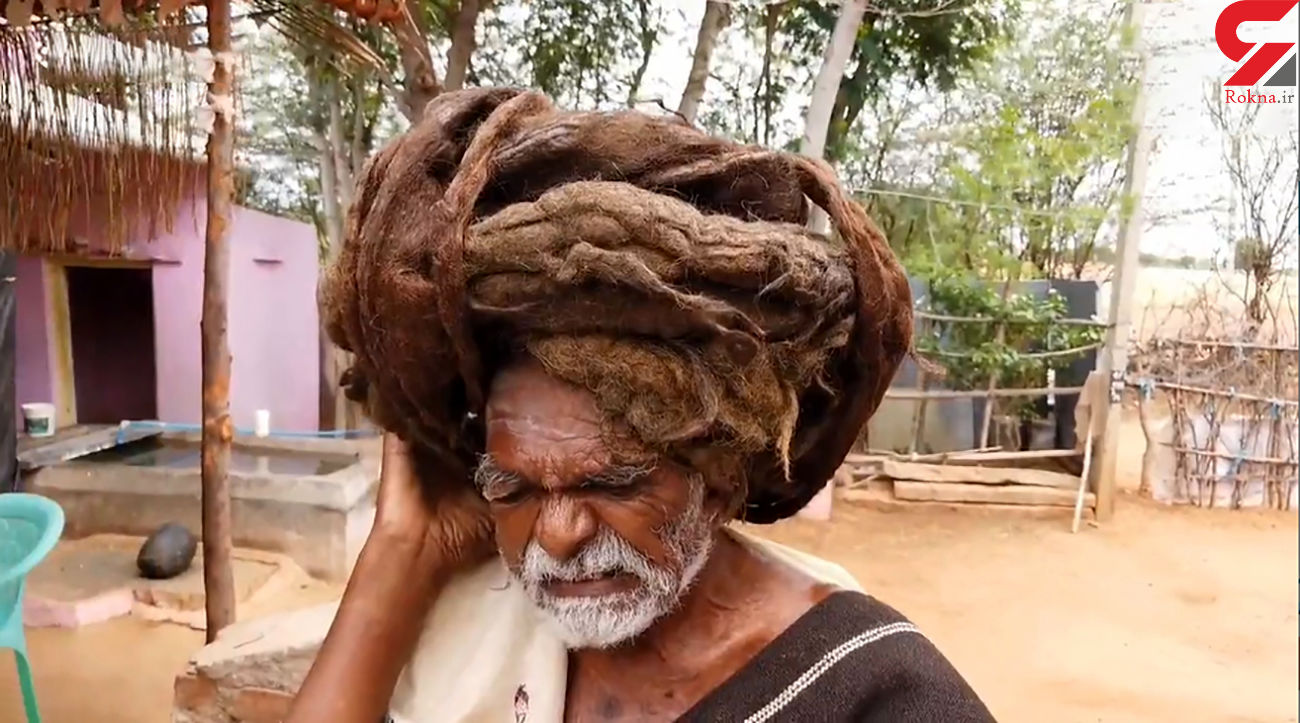عجیب ترین پیرمرد هندی را بشناسید + فیلم