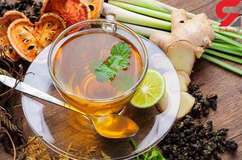 کاهش فشار خون با نوشیدن چای زنجبیل
