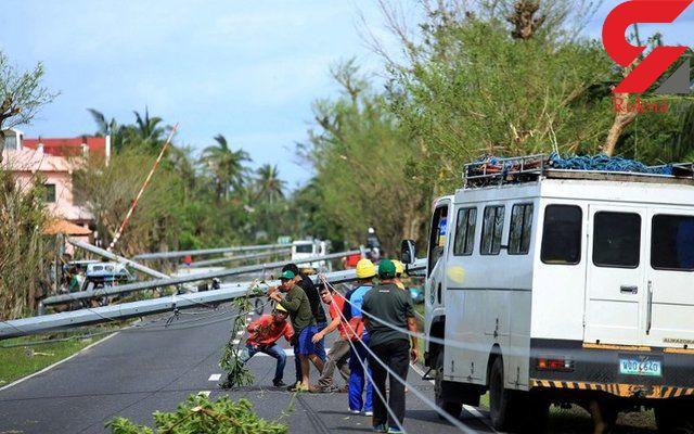 طوفان در فیلیپین ۱۰ کشته برجا گذاشت