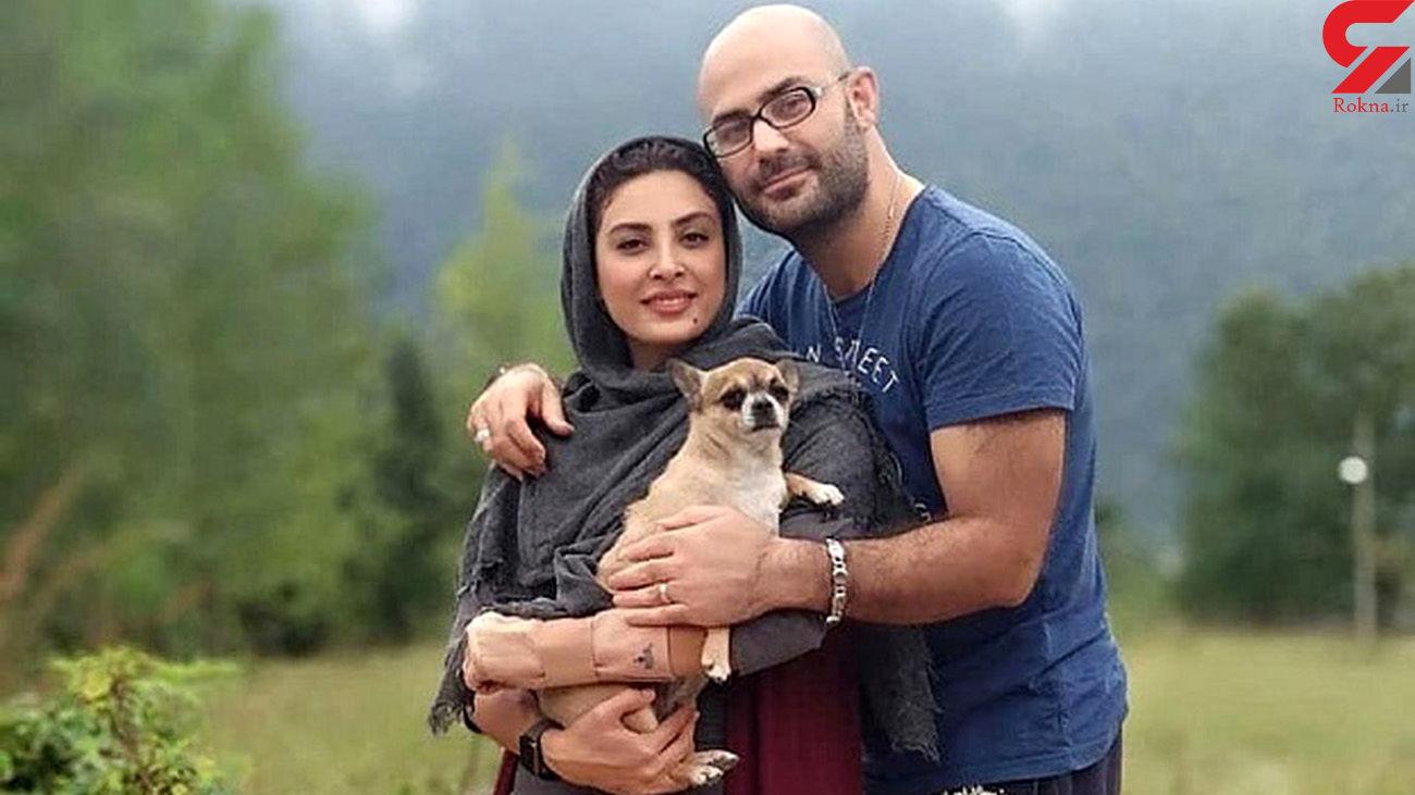 زوج معروف ایرانی به ماسک اعتقادی ندارند + تصاویر