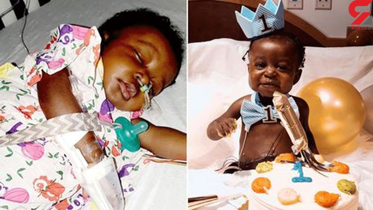 Miracle baby survives liver transplant and Covid-19 to celebrate 1st birthday