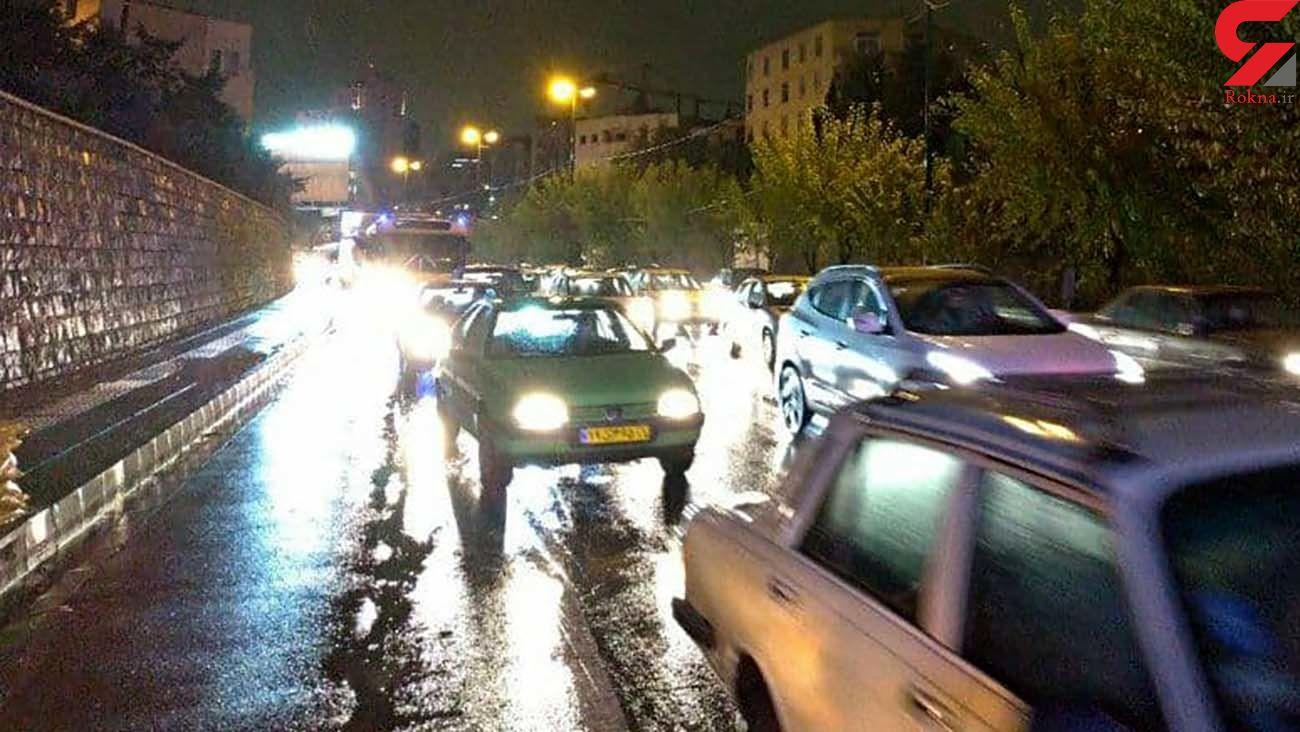بارندگی در آبادان موجب آبگرفتگی معابر شد