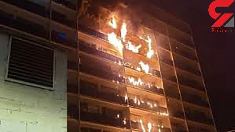 بیمارستانی در اطراف پاریس آتش گرفت / بیش از یک نفر کشته شد