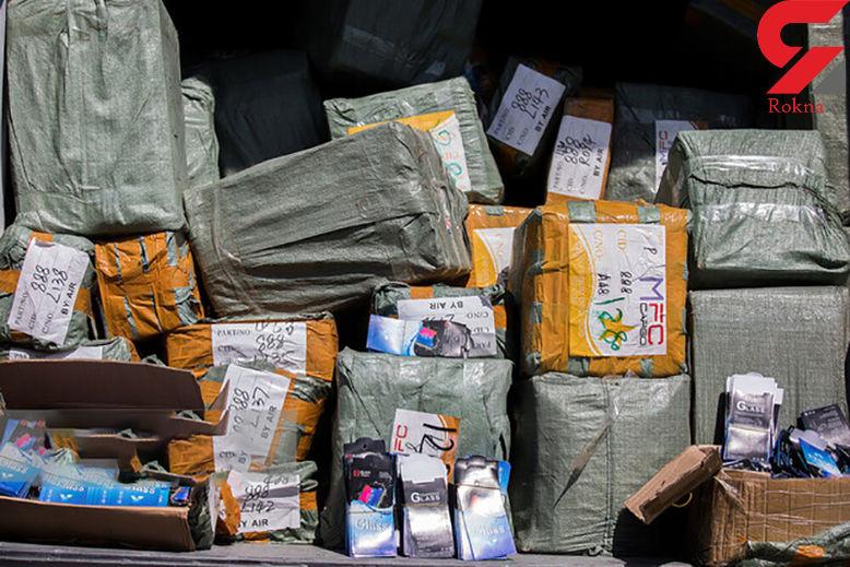 کشف مواد مخدر و کالای قاچاق در مرزهای خراسان رضوی