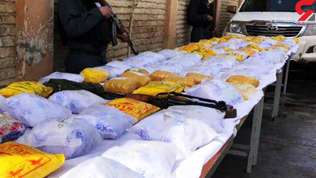 درگیری مسلحانه پلیس با سوداگران مرگ در خاش و ایرانشهر