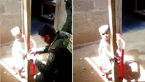 تنبیه عجیب کودک، کار دست مادر سنگدل داد+عکس