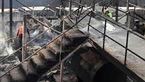 آتش سوزی یک هتل در ییلاقات ماسال