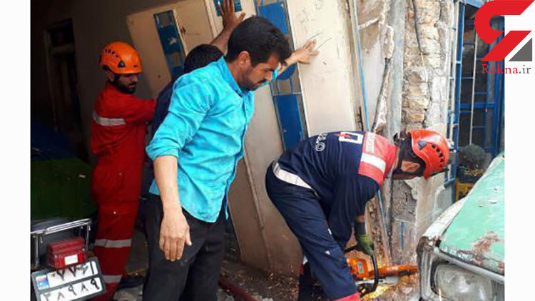 چهار مصدوم بر اثر انفجار در یک ساختمان مسکونی در مشهد