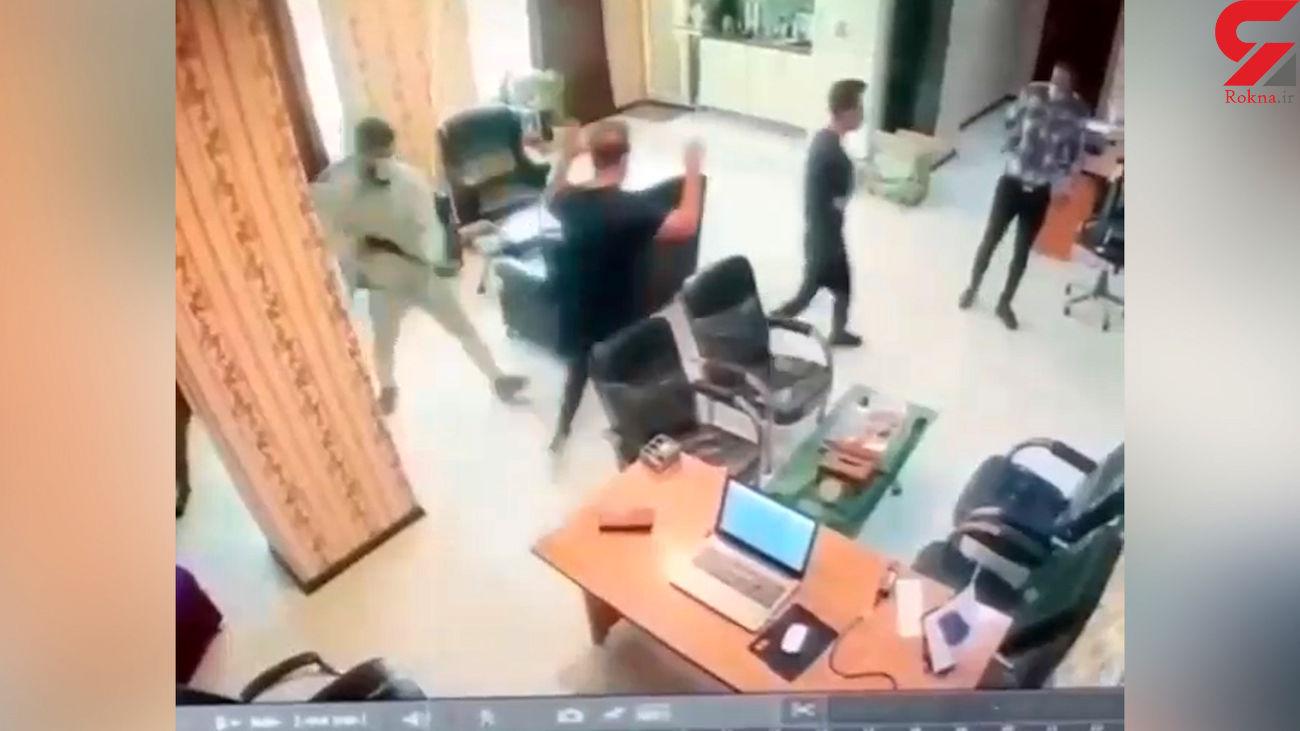 سرقت مسلحانه با وینچستر در شهریار / بازداشت زورگیران خشن + فیلم