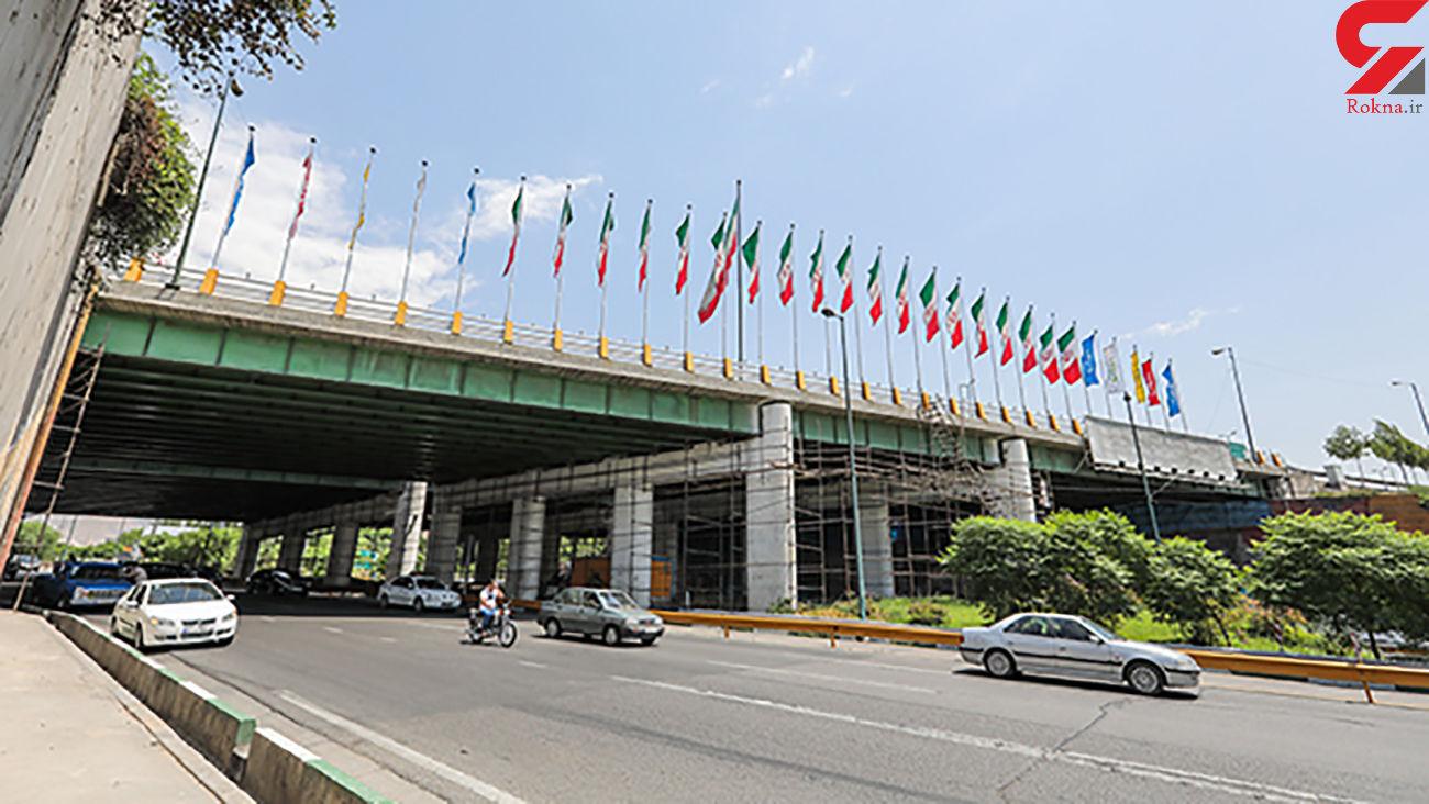 مقاوم سازی 5 دستگاه پل سواره رو در چهارگوشه پایتخت