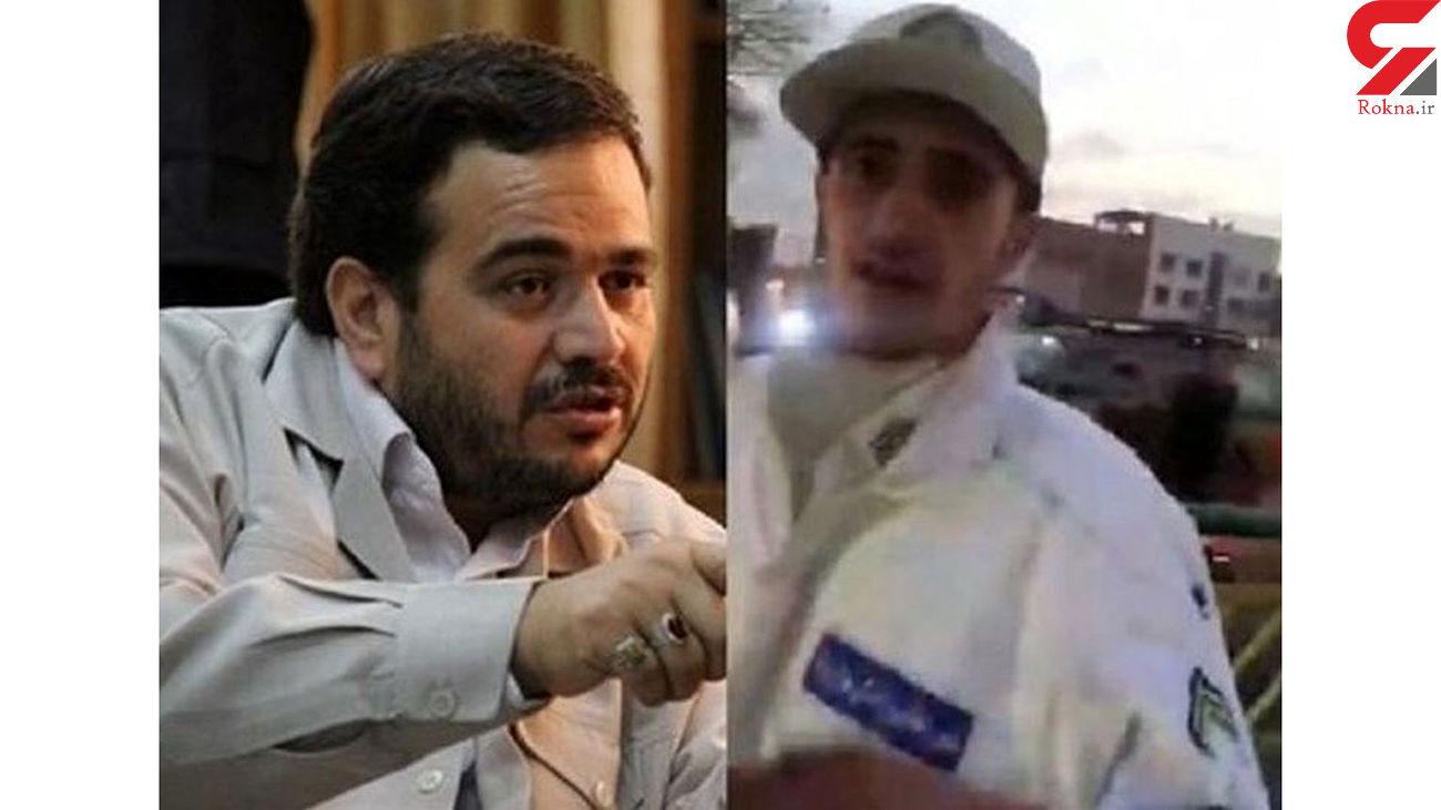 نمایندگان مجلس حق ورود به خط ویژه را ندارند / واکنش پلیس + فیلم