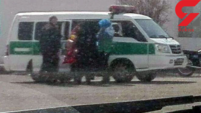 دستگیر زن بازیگر معروف با قیافه مردانه در ورزشگاه آزادی + عکس