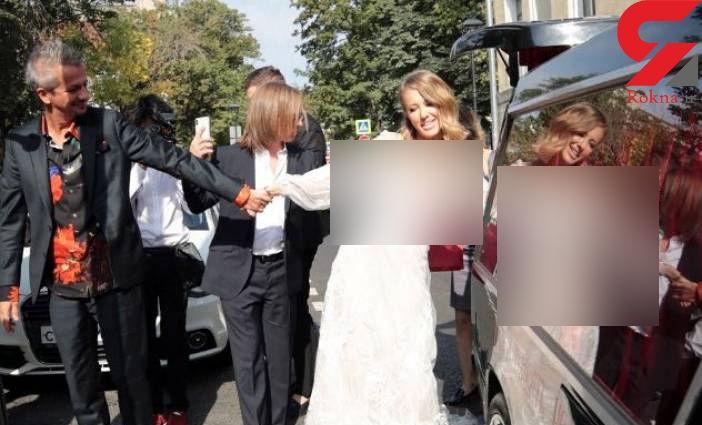 عروسی جنجالی خانم سیاستمدار+ عکس
